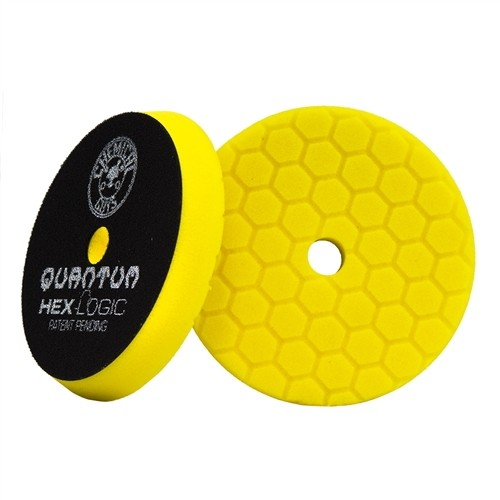 Chemical Guys Tampone Quantum Giallo Heavy Cutting 130 mm